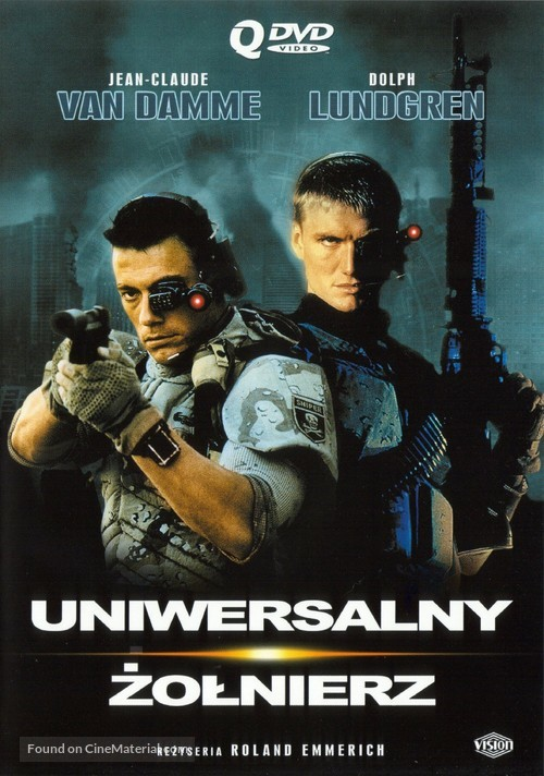 Universal Soldier - Polish DVD movie cover