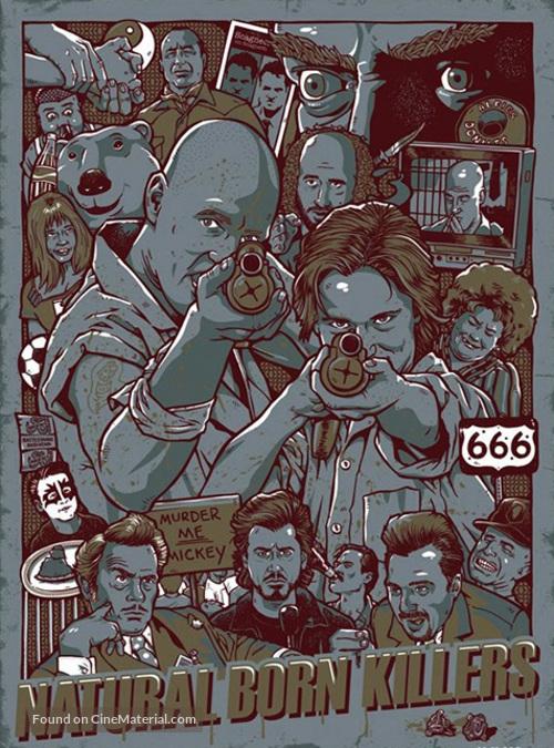 Natural Born Killers - Movie Poster