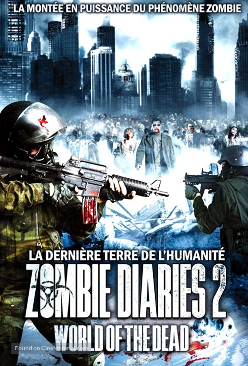 World of the Dead: The Zombie Diaries - French Movie Cover