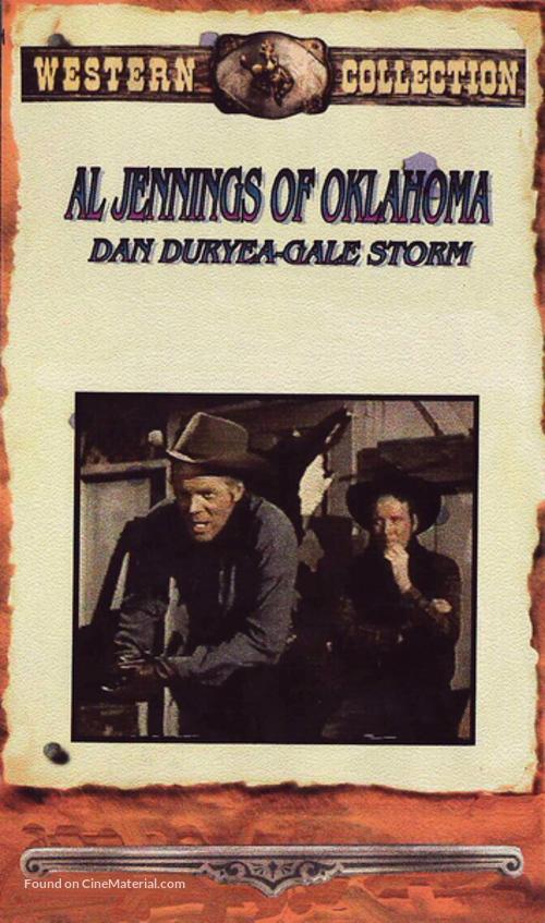Al Jennings of Oklahoma - VHS movie cover