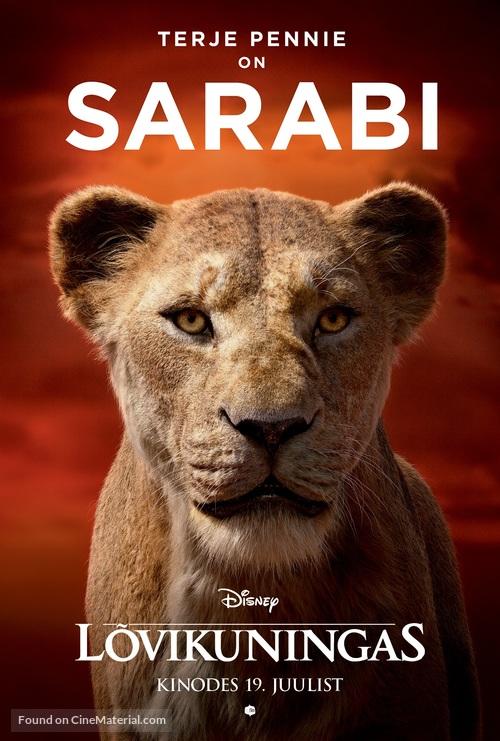 The Lion King - Estonian Movie Poster