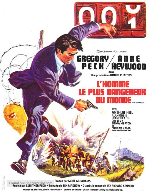 The Chairman - French Movie Poster