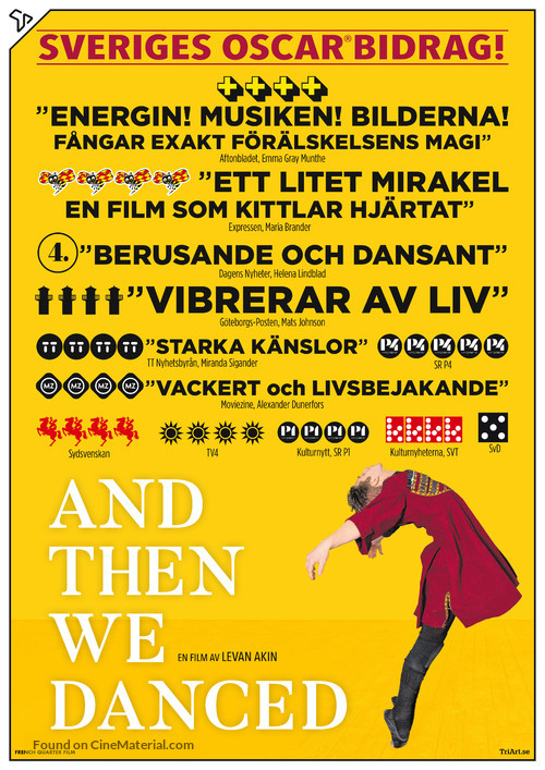 And Then We Danced - Swedish Movie Poster