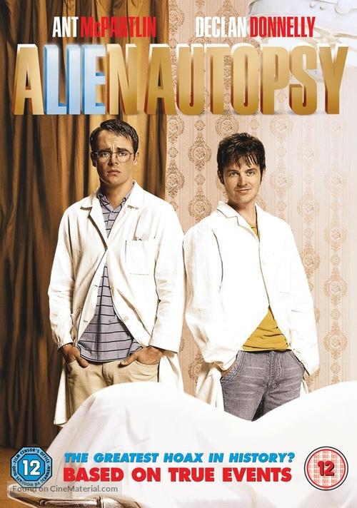Alien Autopsy - British DVD movie cover