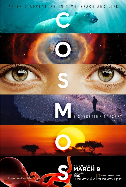 """Cosmos: A SpaceTime Odyssey"" - Movie Poster"