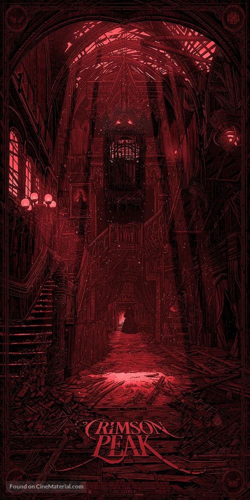 Crimson Peak - Movie Poster