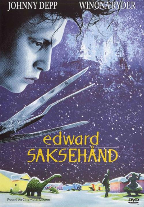 Edward Scissorhands - Norwegian Movie Cover