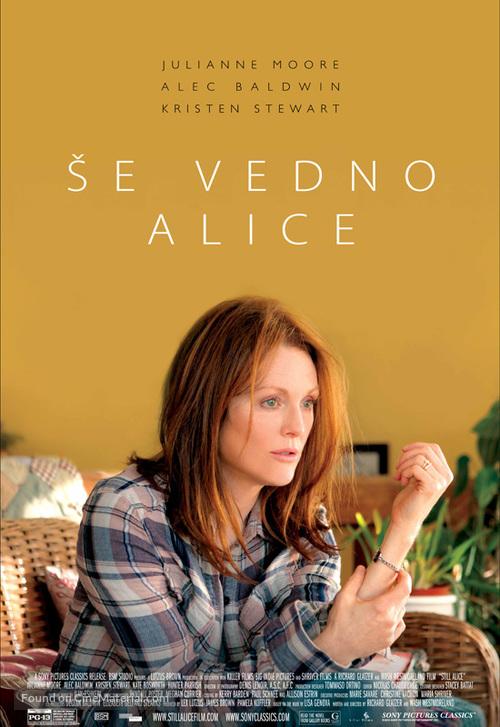 Still Alice - Slovenian Movie Poster