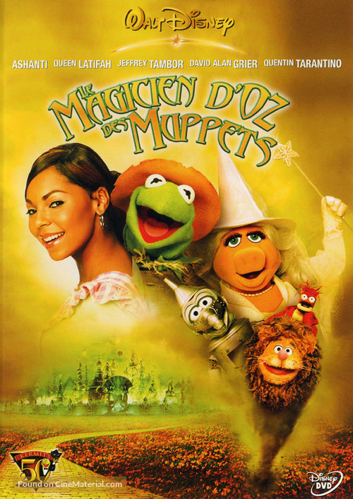 The Muppets Wizard Of Oz - French DVD movie cover