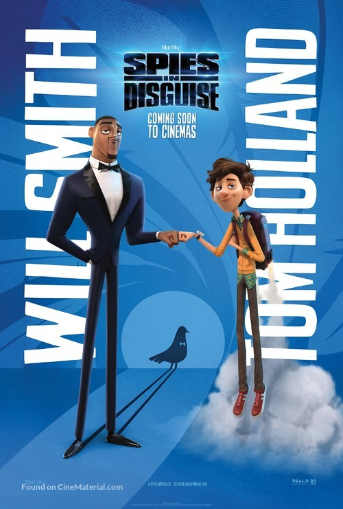 Spies in Disguise - International Movie Poster