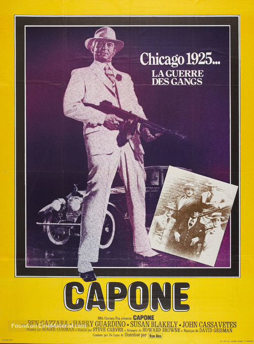 Capone - French Movie Poster