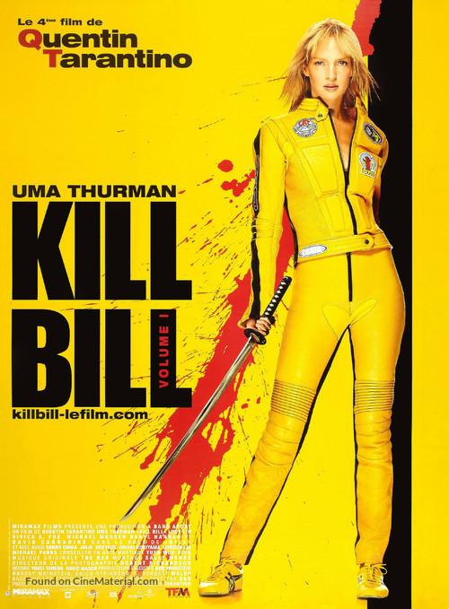 Kill Bill: Vol. 1 - French Movie Poster