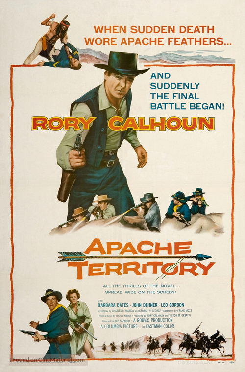 Apache Territory - Movie Poster