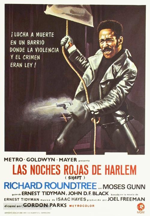Shaft - Spanish Movie Poster