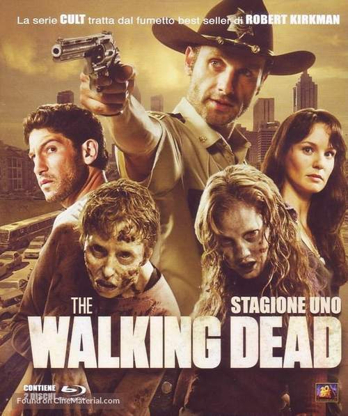 """The Walking Dead"" - Italian Blu-Ray movie cover"