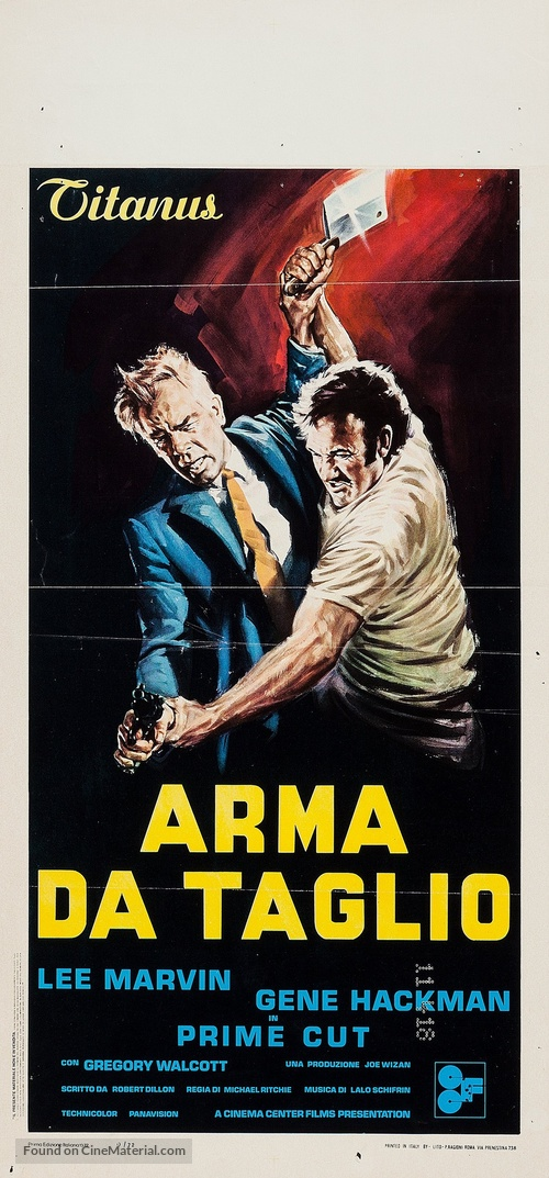 Prime Cut - Italian Movie Poster