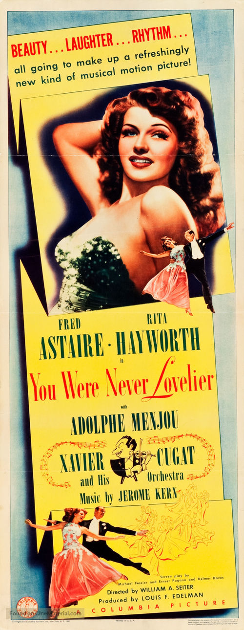 You Were Never Lovelier - Movie Poster