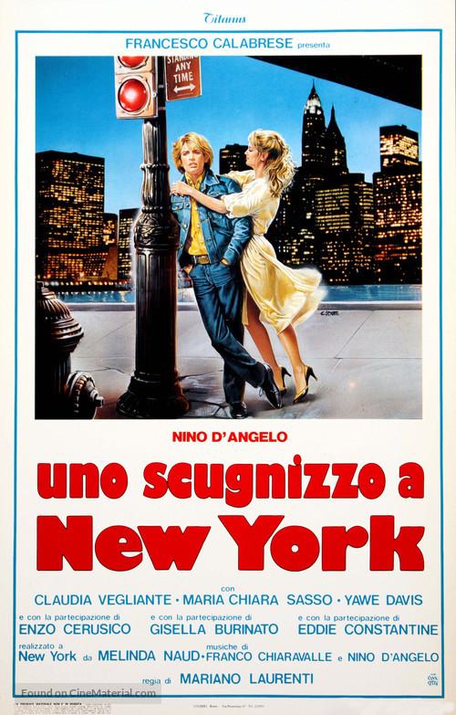 Uno scugnizzo a New York - Italian Movie Poster