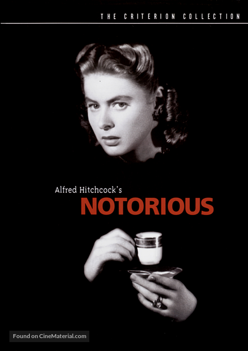 Notorious - DVD movie cover