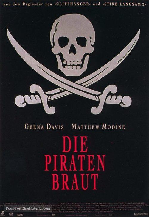 Cutthroat Island - German Movie Poster