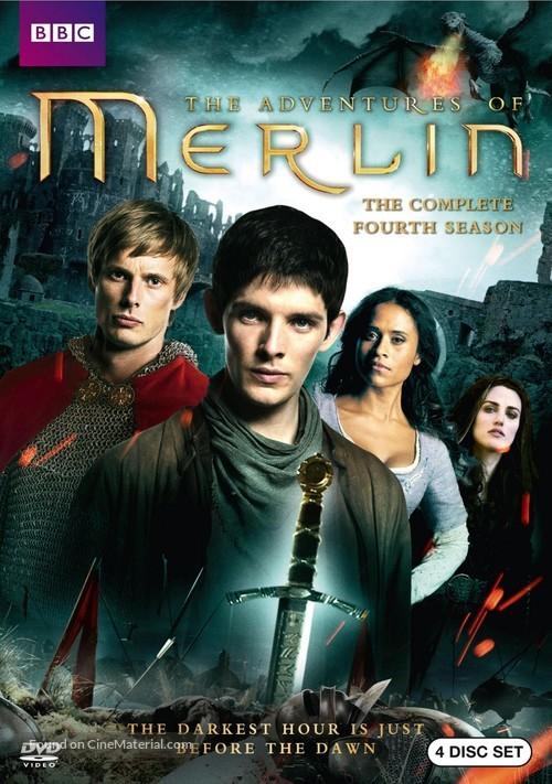 """""""Merlin"""" - DVD cover"""
