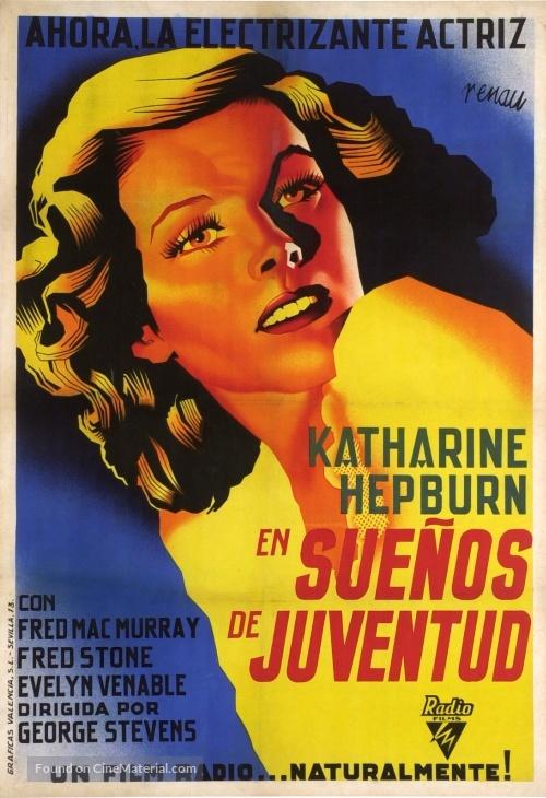 Alice Adams - Spanish Movie Poster