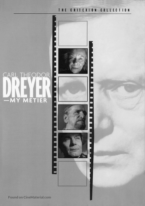 Carl Th. Dreyer: Min metier - DVD movie cover