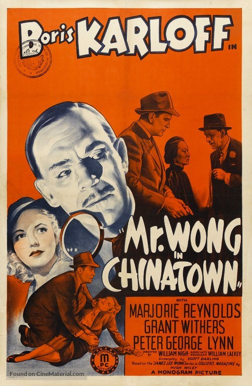 Mr. Wong in Chinatown - Movie Poster