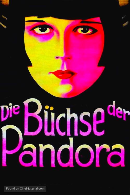 Die Büchse der Pandora - German poster