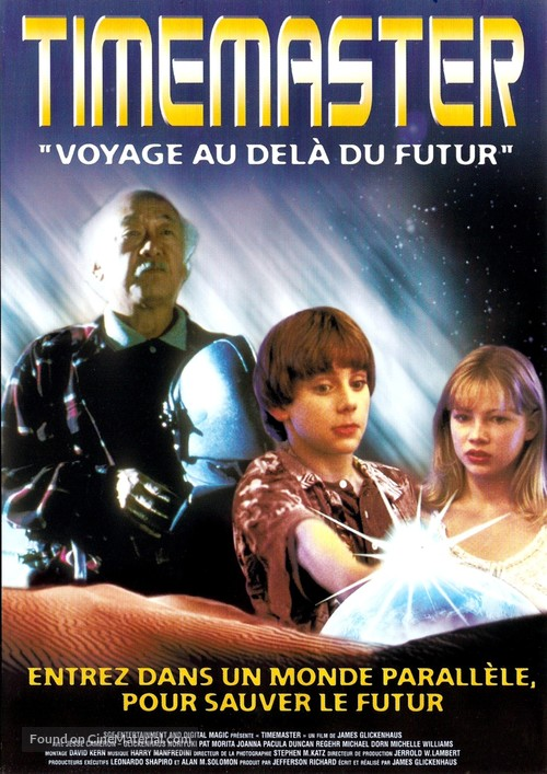 Timemaster - French DVD cover