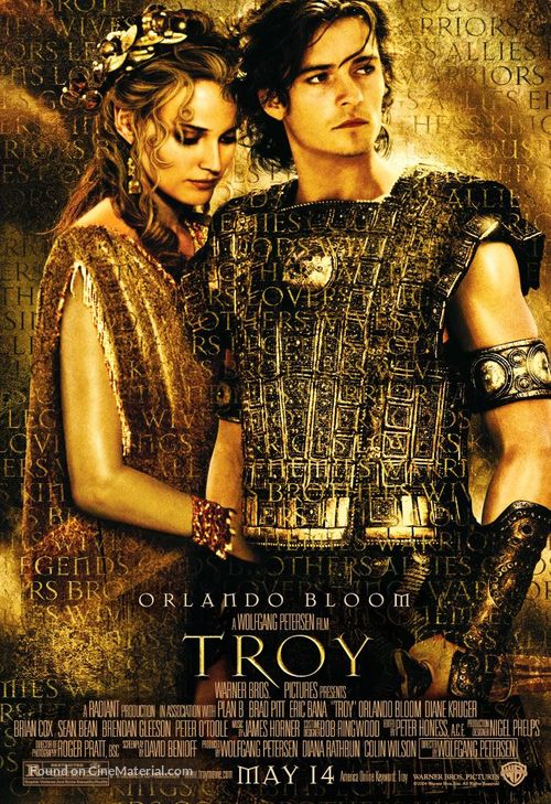 Troy - Movie Poster