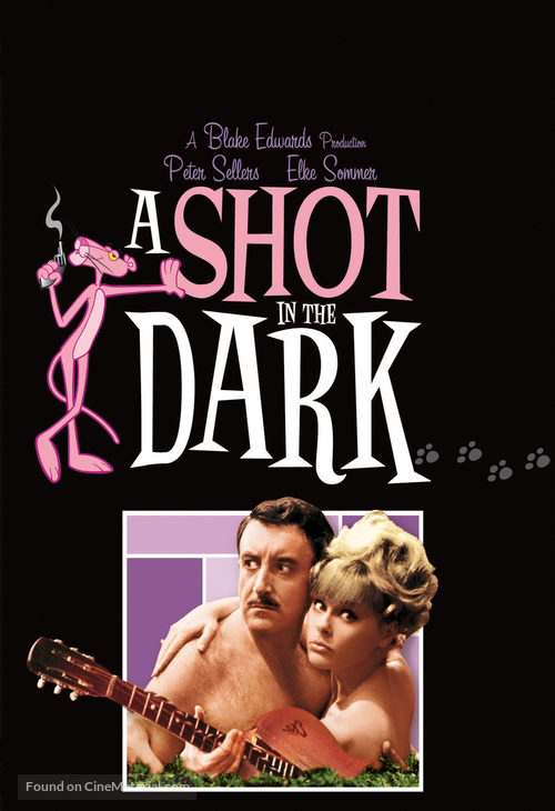 A Shot in the Dark - DVD movie cover