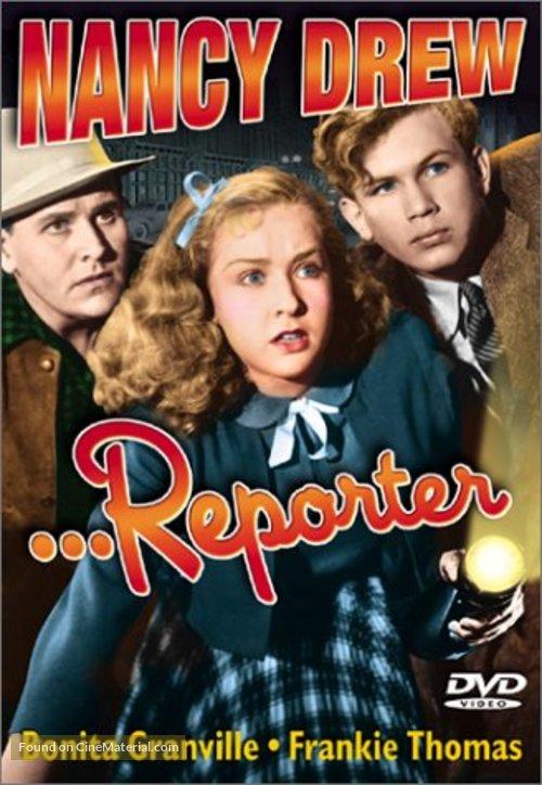 Nancy Drew... Reporter - DVD cover