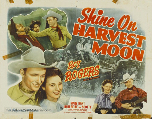 Shine On, Harvest Moon - Movie Poster