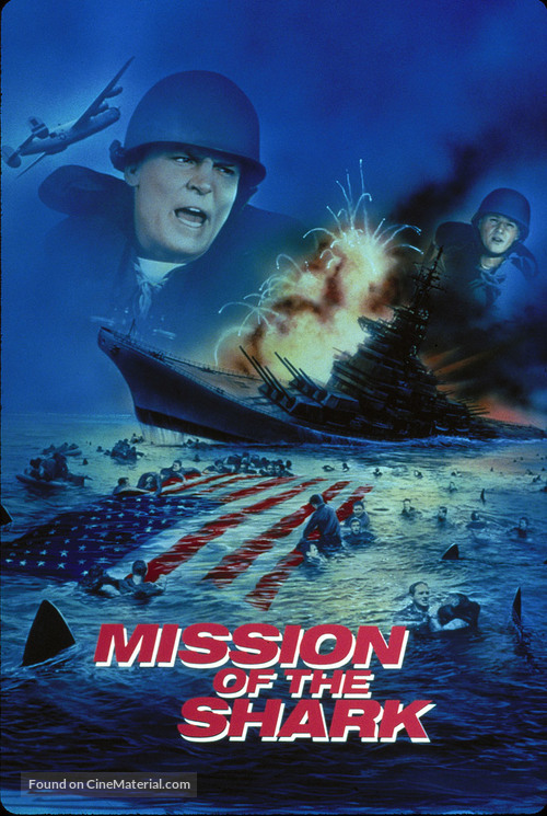 Mission of the Shark: The Saga of the U.S.S. Indianapolis - DVD cover