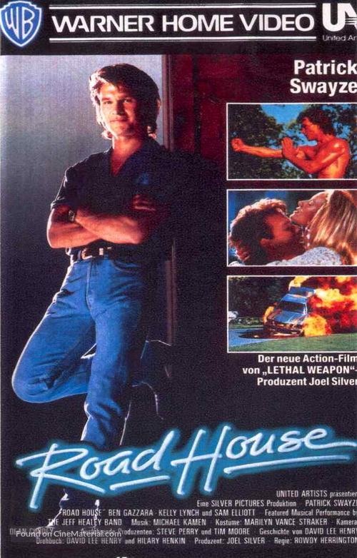 Road House - German Movie Cover