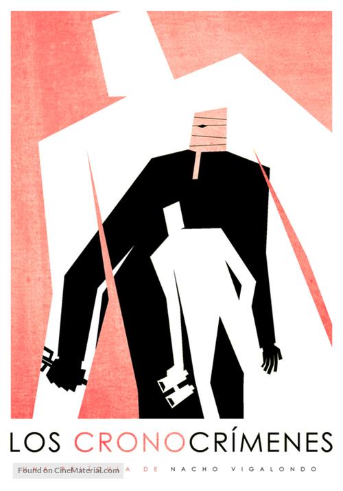 Los cronocrímenes - Spanish Never printed movie poster