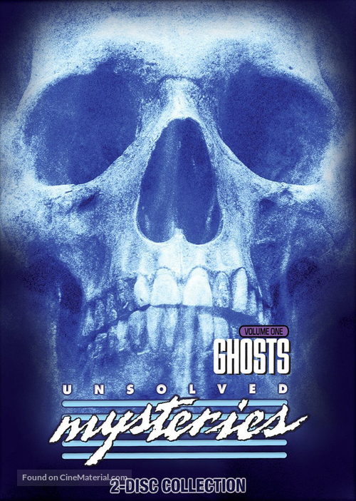 """""""Unsolved Mysteries"""" - DVD movie cover"""