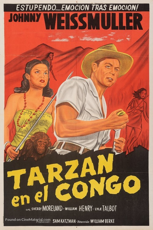 Fury of the Congo - Argentinian Movie Poster