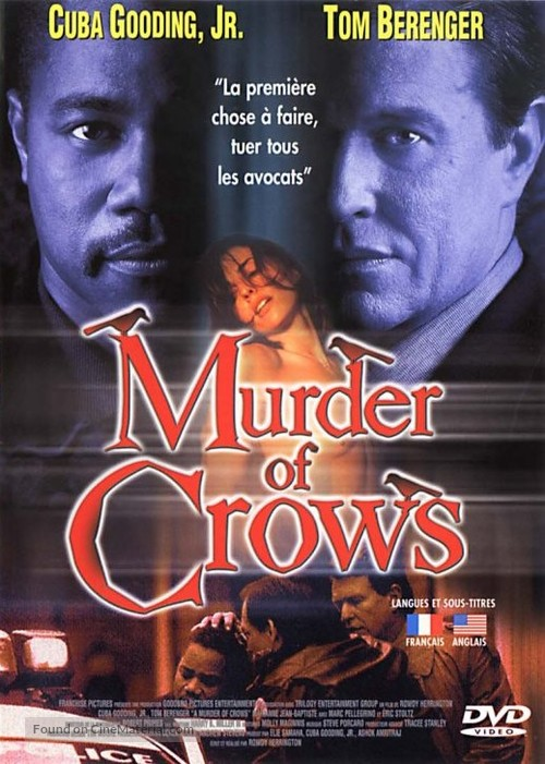 A Murder of Crows - French poster