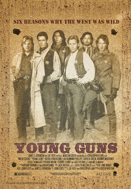 Young Guns - Movie Poster