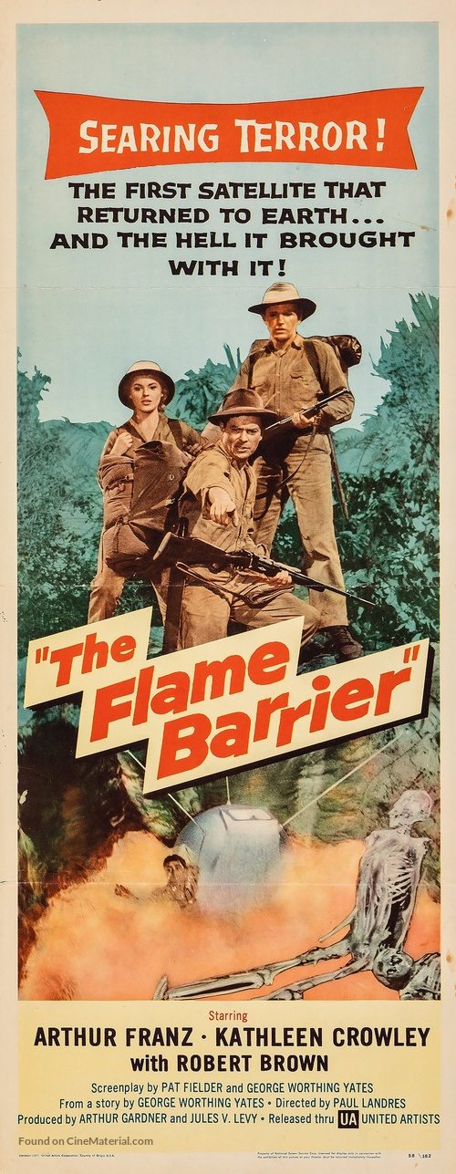 The Flame Barrier - Movie Poster