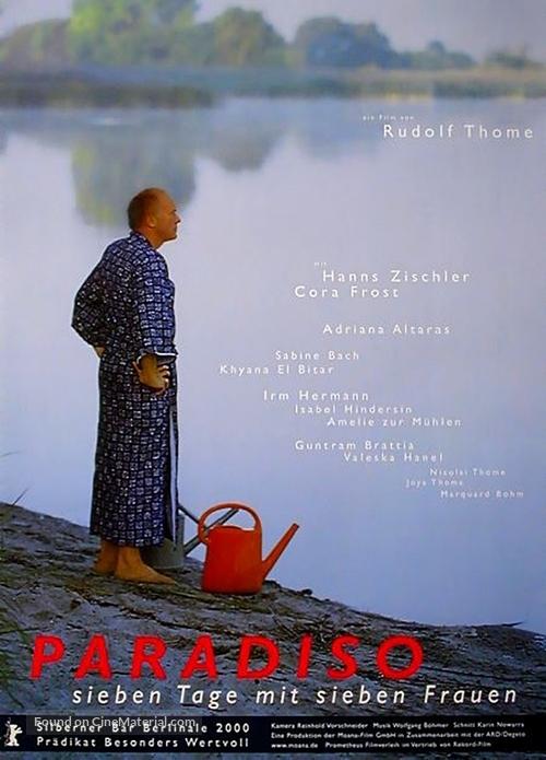 Paradiso - Sieben Tage mit sieben Frauen - German Movie Poster