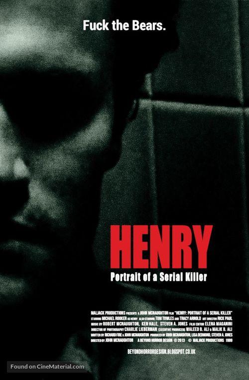 Henry: Portrait of a Serial Killer - Movie Poster