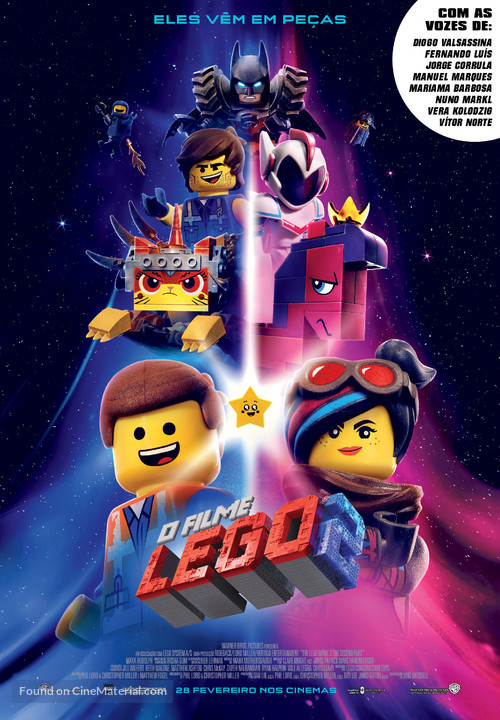 The Lego Movie 2: The Second Part - Portuguese Movie Poster