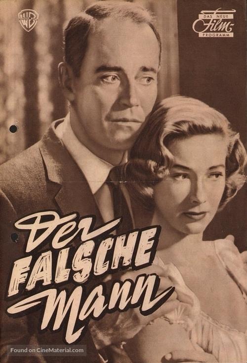 The Wrong Man - German poster