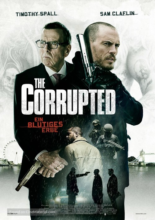 The Corrupted - German Movie Poster