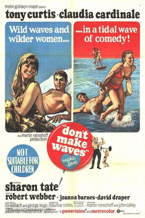 Don't Make Waves - Australian Movie Poster