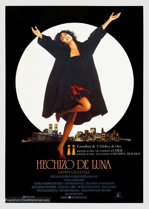 Moonstruck - Spanish Movie Poster