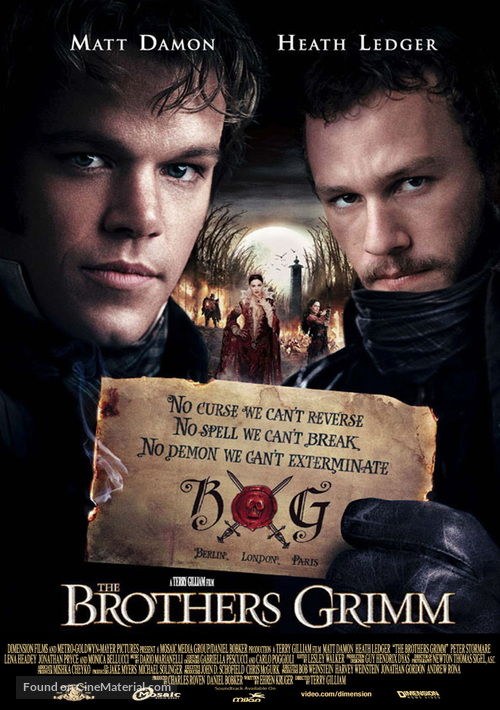 The Brothers Grimm - Movie Poster